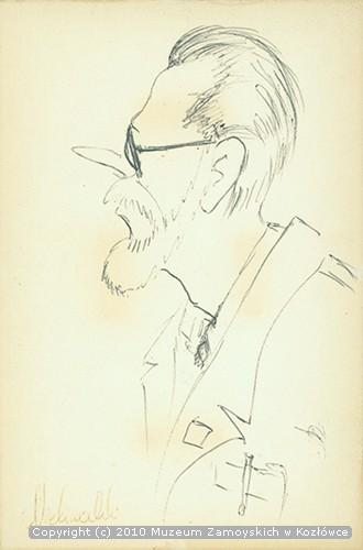 Marek Kszysztof Kaszycki - karykatura