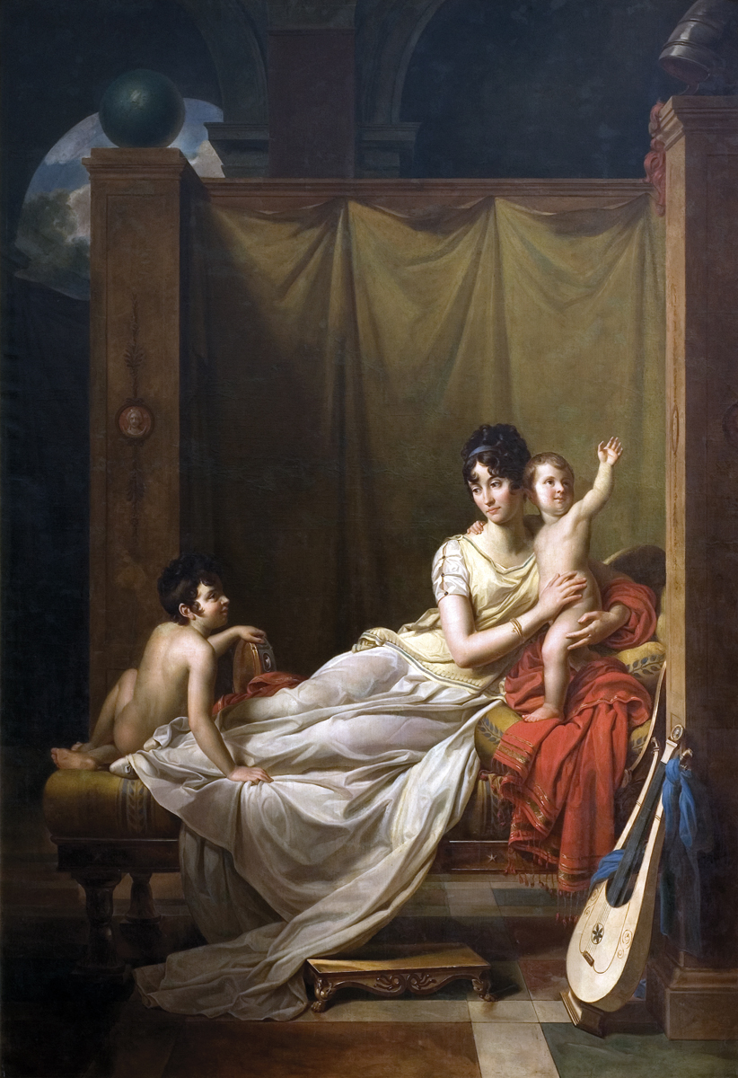 Zofia z Czartoryskich Zamoyska z synami