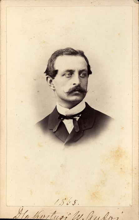 Antoni Potocki (1841-1908), Paryż, 1863 r., fotografia zabytkowa