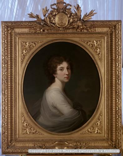 Maria z Ganowskich Zamoyska, żona Aleksandra Zamoyskiego