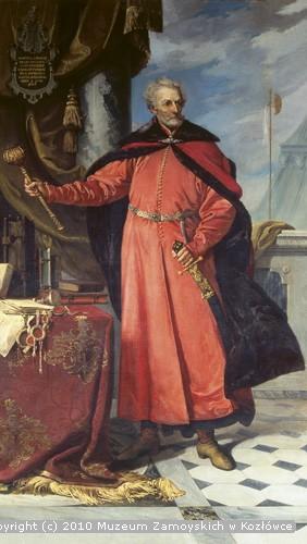 Józef Buchbinder, Portret Jana Zamoyskiego