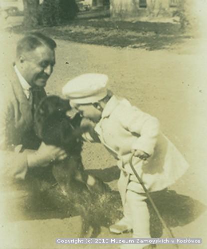 Aleksander Leszek Zamoyski z synem